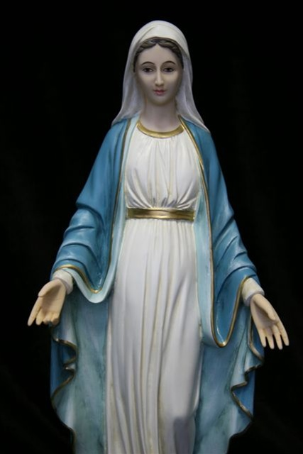 Catholic Statues Catholic Figure Our Lady Of Grace Our Lady Of Grace Figures Our Lady Of