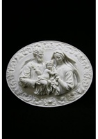 HOLY FAMILY PLATE