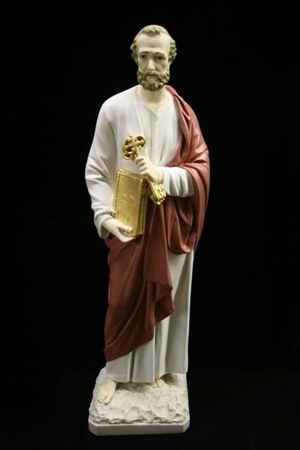 Catholic Statues St Peter Catholic Figurines At Vittoria